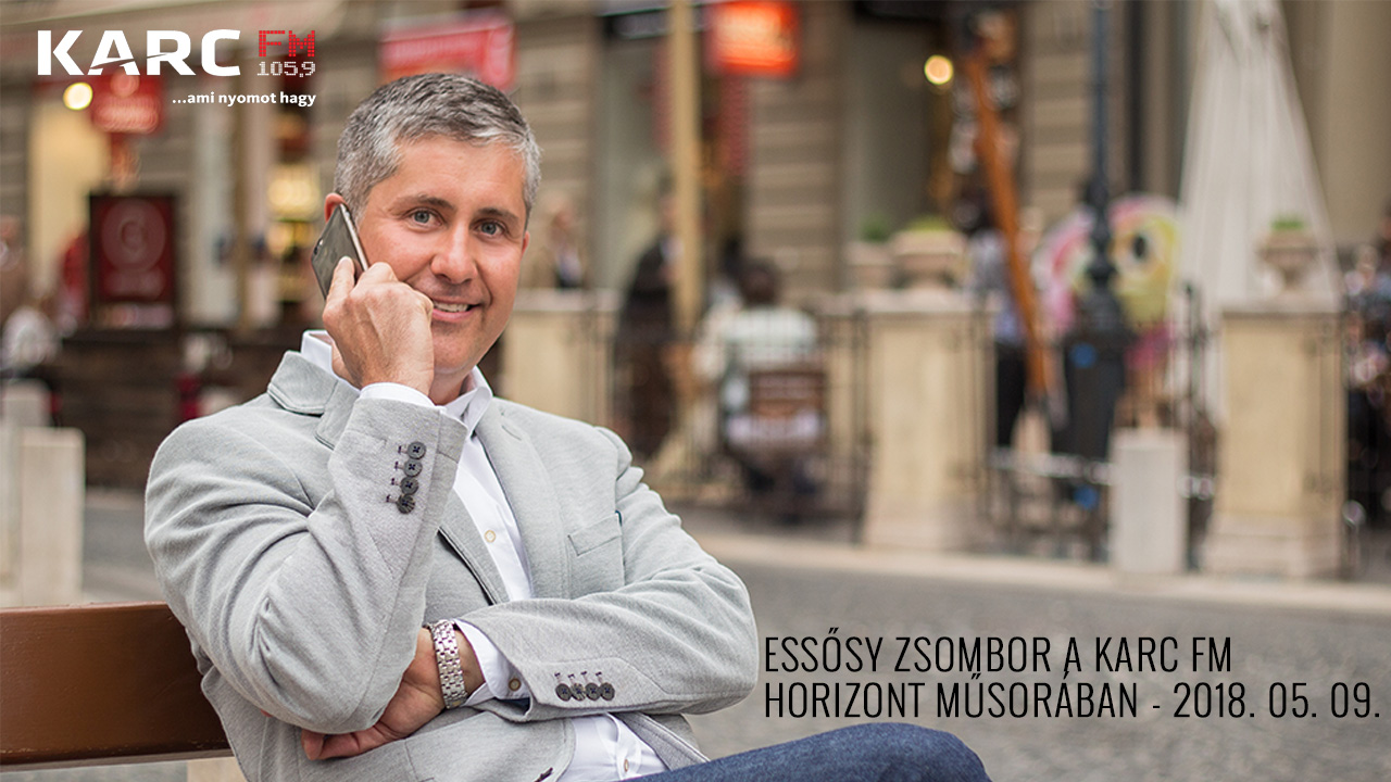 Essősy Zsombor a Karc FM Horizont műsorában