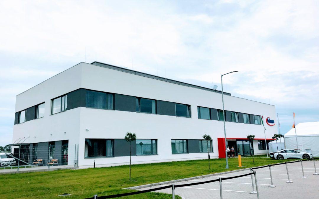 Átadták az Infineon új, EKD támogatás segítségével megvalósult központi épületét