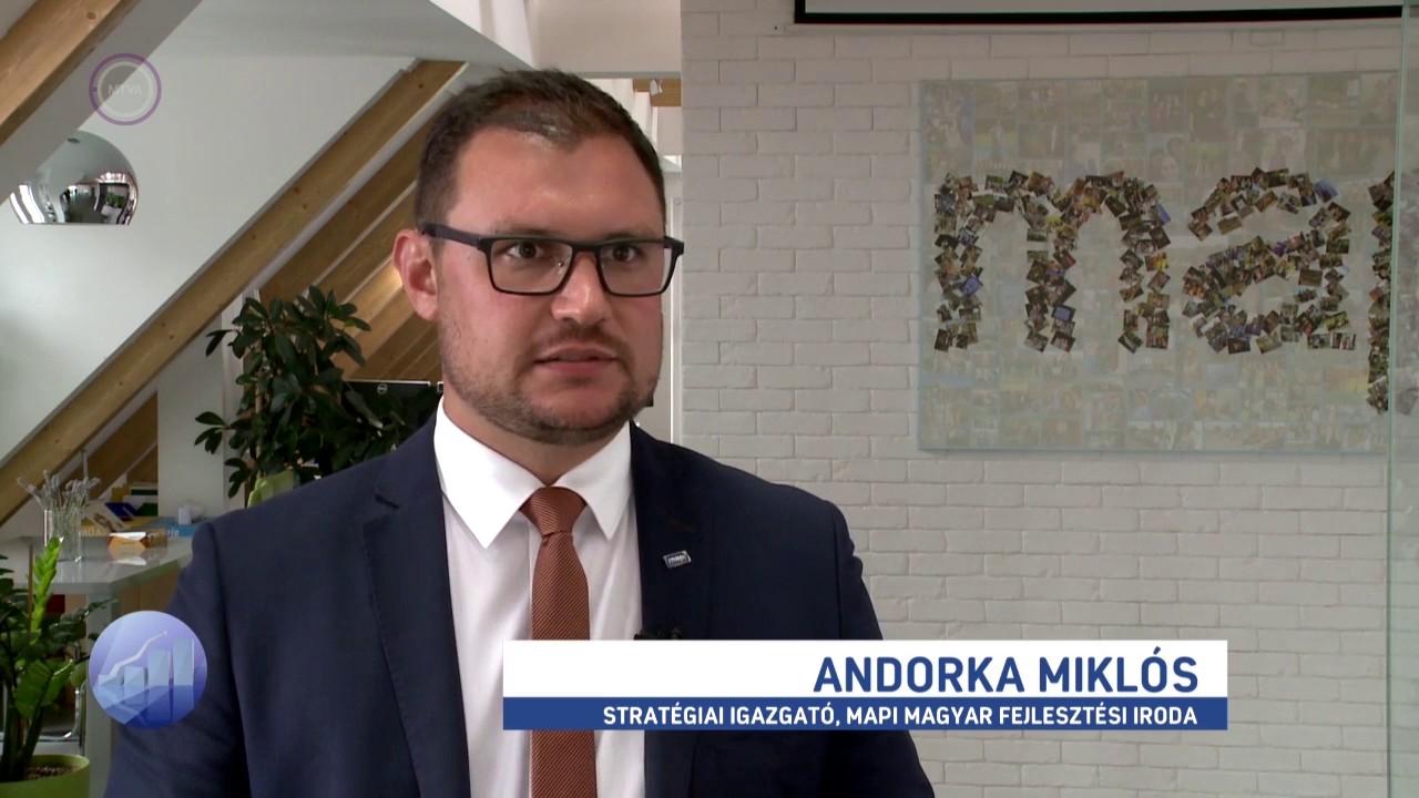 Az új, feltételesen vissza nem térítendő támogatásról nyilatkozott Andorka Miklós az M1 Forint, Fillér műsorában