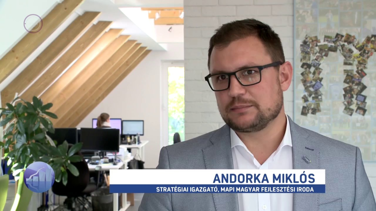 Andorka Miklós az M1 Forint, Fillér műsorában