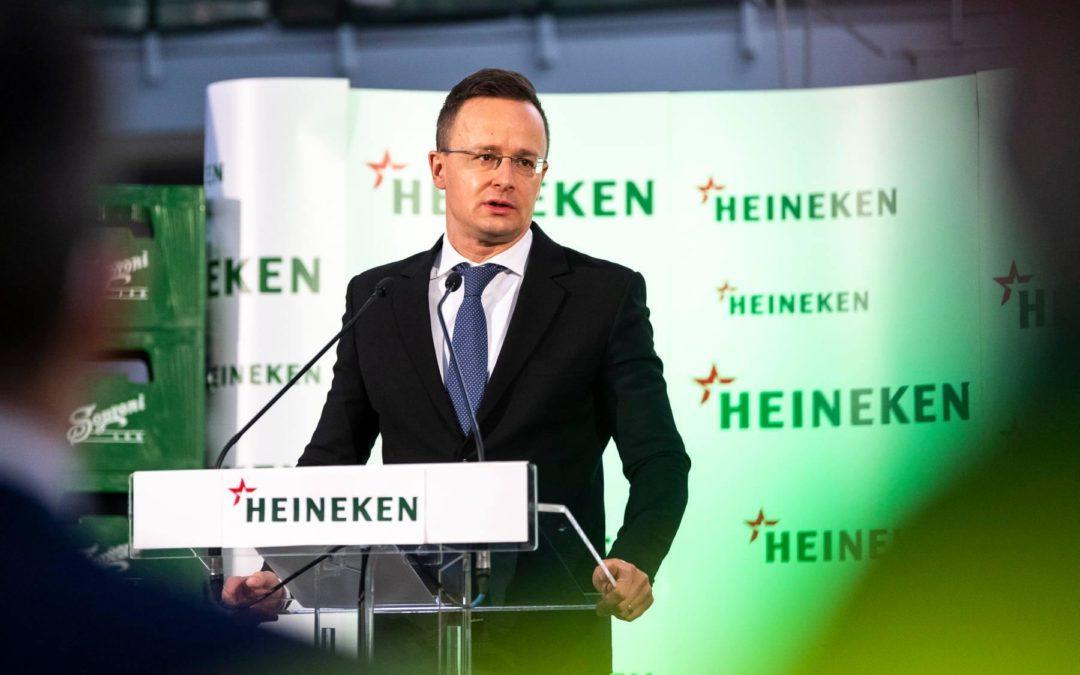 540 millió forintos beruházást valósít meg a HEINEKEN a soproni sörgyárban