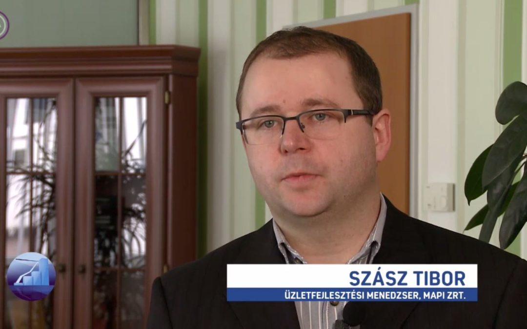 Szász Tibor az M1 Profit7 műsorában