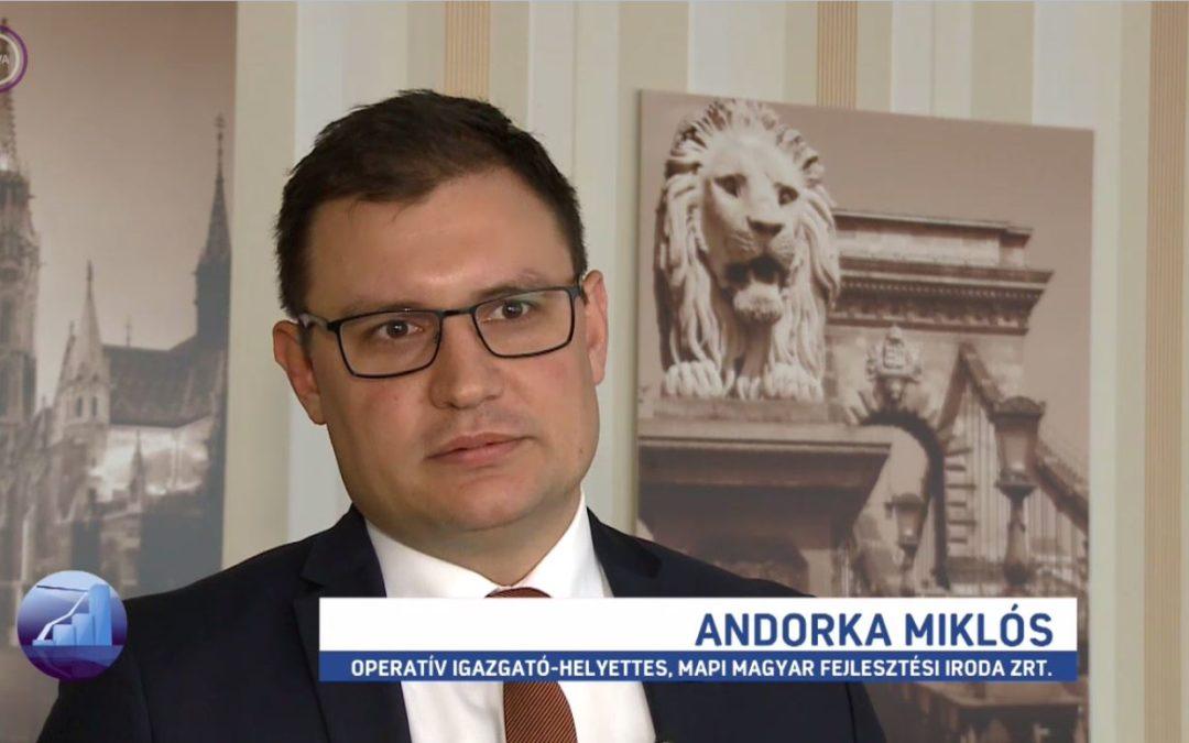 Andorka Miklós az M1 Profit7 műsorában