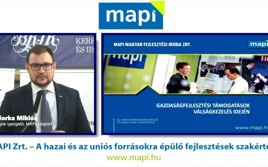Andorka Miklós előadása a PP Konferencia – Üzleti kilátások 2020 konferenciáján (2020. november 5.)